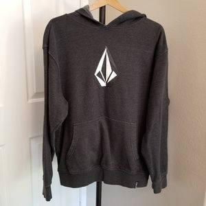Volcom men's L black hoodie